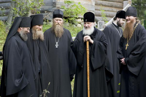 святейший Патриарх Кирилл на Соловках, 2014