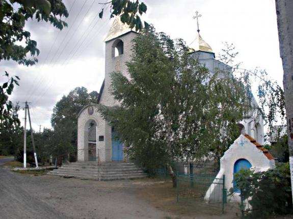 Храм Архангела Михаила с. Кириковка, Сумская обл. Украина