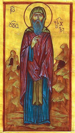 Преподобный Додо Давидо-Гареджийский, Грузинский