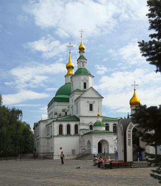 Свято-Данилов мужской монастырь.Церковь Святых Отцов Семи Вселенских Соборов