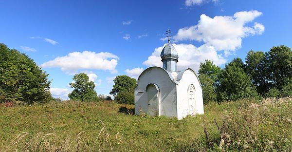 Часовня Ефрема Перекомского - Дубровка (Серговской СА) - Новгородский район