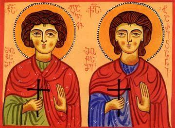 Мученики Давид и Таричан Грузинские