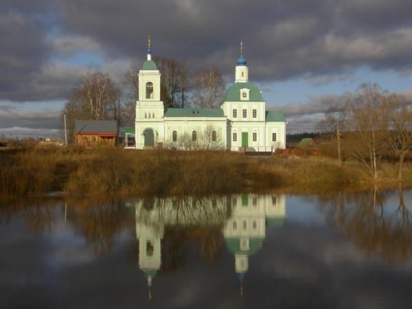 Церковь Троицы Живоначальной - Рязанцы - Щелковский район - Московская область