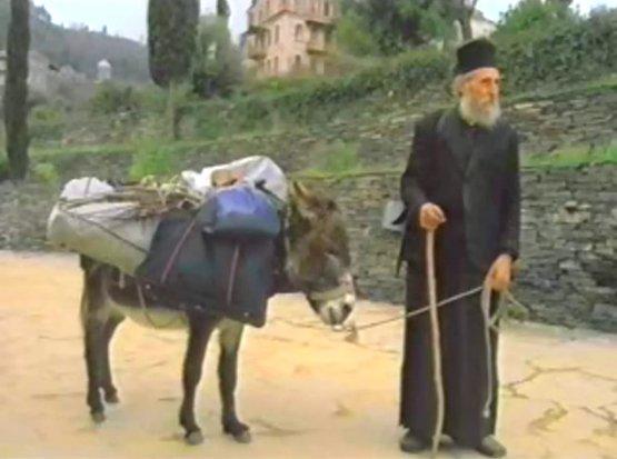Афон, старец Лука, монастырь Филофей