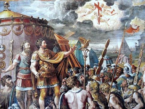 явление Креста императору Константину Великому