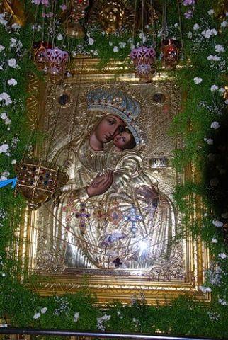 Икона Богородицы «Споручница грешных» Корецкая