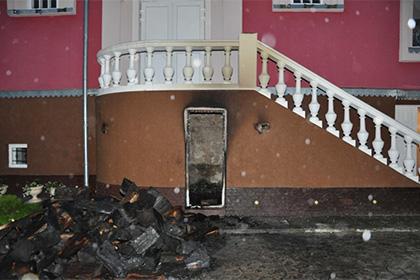 На Украине подожгли храм Московского патриархата