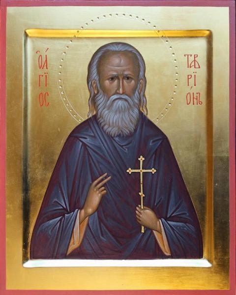 Икона преподобномученика Тавриона (Толоконцева)