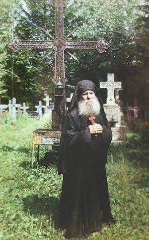 старей иеросхимонах Паисий Олару (1897-1990), духовник старца архимандрита Клеопы Илие