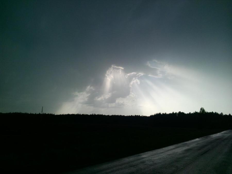 деревня тучи дождь 1