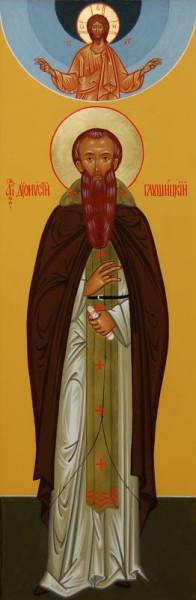 Преподобный Дионисий Глушицкий, игумен