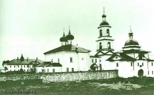 Дионисиево-Глушицкий (Сосновецкий) монастырь, фото начало XX века