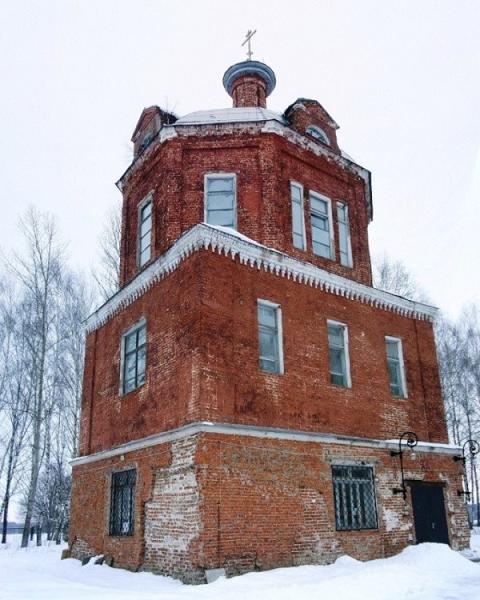 Церковь Троицы Живоначальной - Горетово - Можайский район