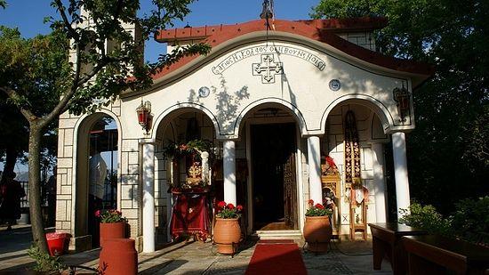 храм святого Николая Нового, Кутурла, Эвбея, Греция