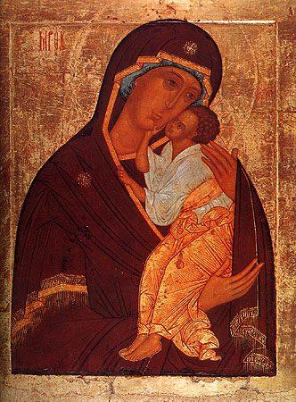 Икона Богородицы Ярославская