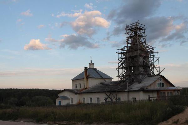 Церковь иконы Божией Матери Всех скорбящих Радость - Митино, урочище - Касимовский район