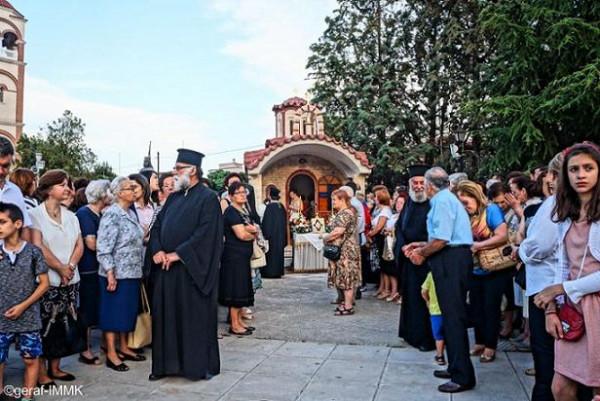храм преподобного Паисия Святогорца в Комотини, Греция