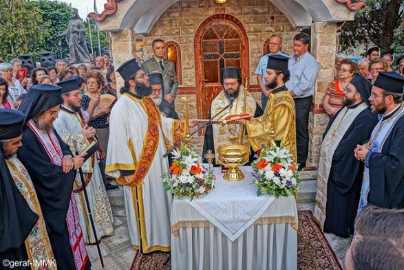 храм преподобного Паисия Святогорца в Комотини, Греция 2