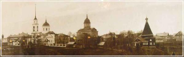 Троицко-Варнавинский монастырь, фото начала XX века, разорен и разрушен в годы лихолетия