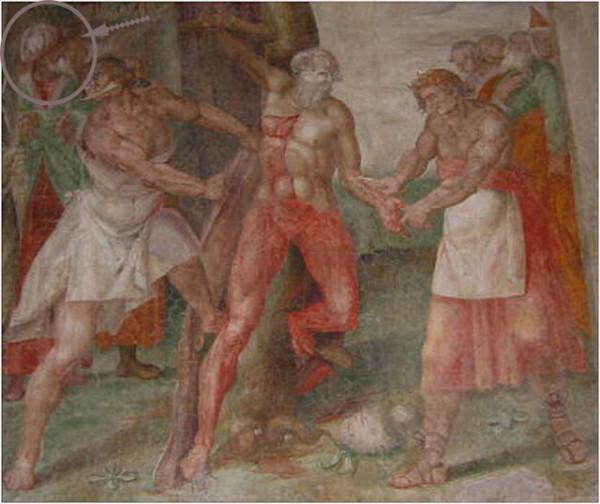 Николо Чирчиньяни (Nicolò Circignani, 1517-1596) Мученичество святого Варфоломея