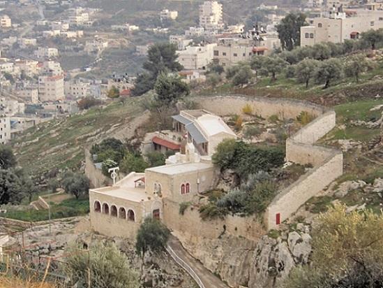 Монастырь Онуфрия Великого, восточный Иерусалим, Израиль. Основан в память того, что здесь в IV в. жил и молился преподобный Онуфрий Великий