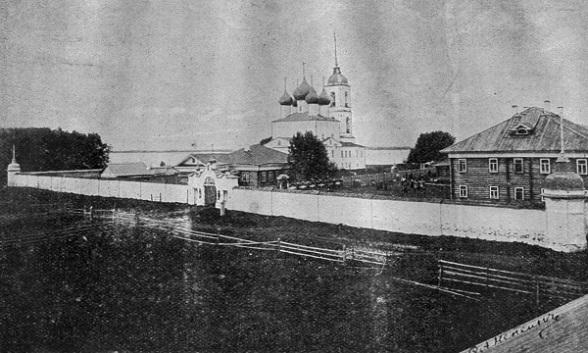 Николаевская Озерская пустынь в начале 20-го века, разорена и разрушена в годы лихолетия