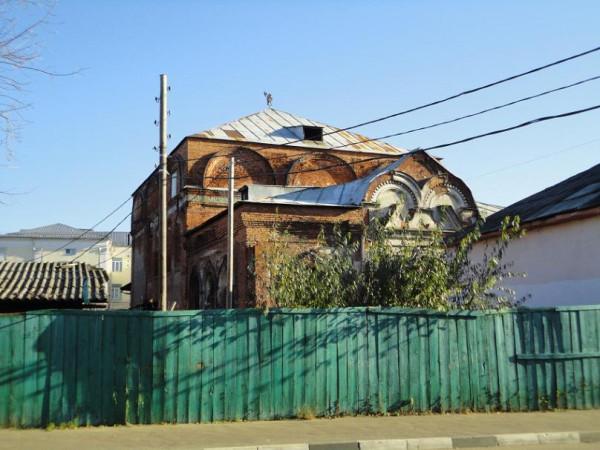 Церковь Воздвижения Креста Господня - Ярославль, все, что осталось от здания на сегодняшний день