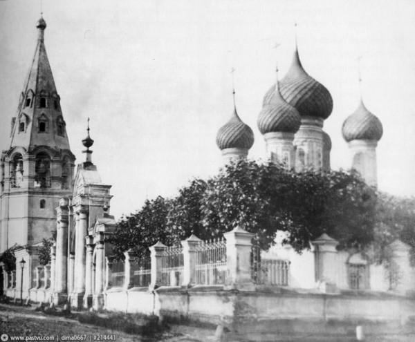 Церковь Воздвижения Креста Господня - Ярославль, фото 1910-1915г.