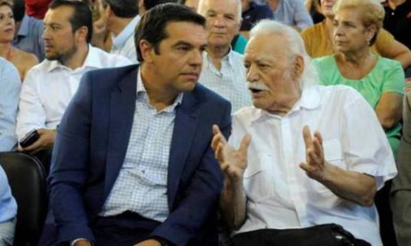 Манолис Глезос и Алексис Ципрас