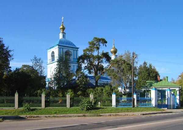 Церковь Успения Пресвятой Богородицы - Обухово - Солнечногорский район