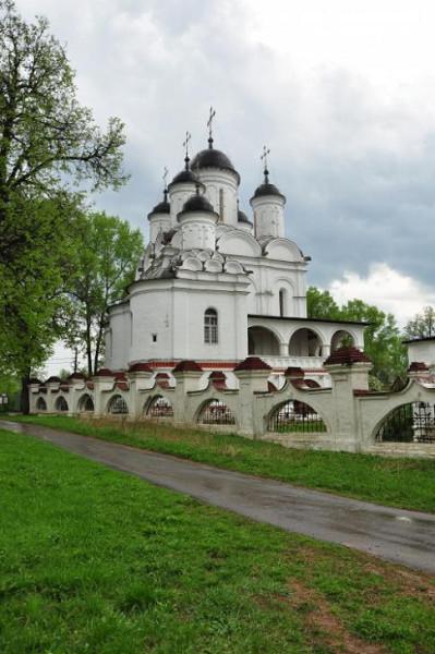 Церковь Спаса Преображения - Большие Вязёмы - Одинцовский район, г. Звенигород