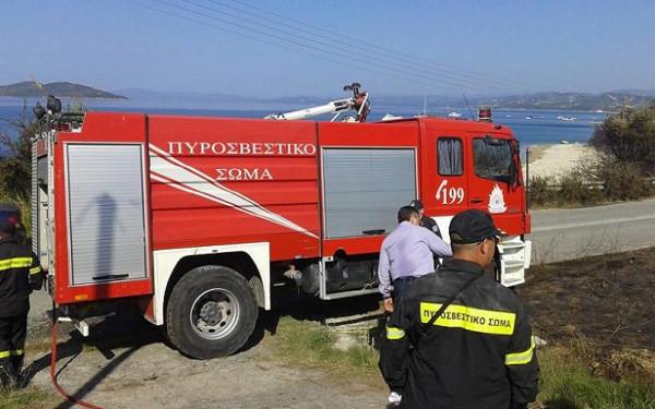 пожар на границе Афона 4