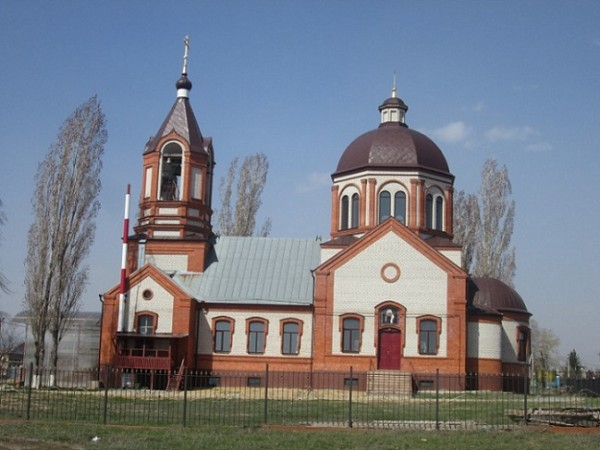 Церковь Тихона Амафунтского - Подгорное - г. Воронеж