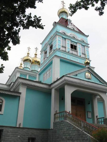 Никольский собор, Алматы Казахстан
