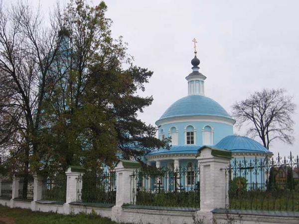 Храм Покрова Пресвятой Богородицы в Хомутове