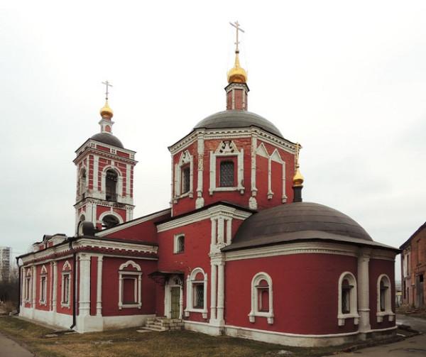 Церковь Покрова Пресвятой Богородицы в Покровском на Городне , Москва
