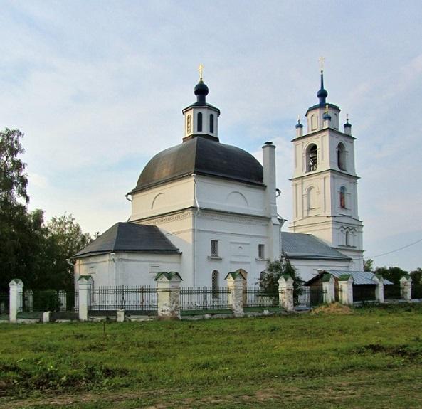 Церковь Спаса Преображения - Спасс - Волоколамский район