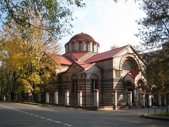 Храм в честь иконы Знамения Божией Матери в Кунцеве
