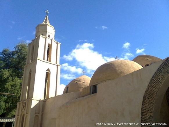 Монастырь Дейр Анба-Бишой (Паисия Великого), Египет, церковь Паисия Великого