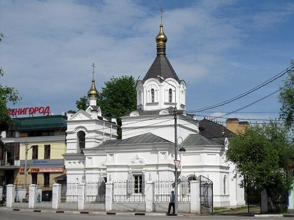 Церковь Александра Невского - Звенигород