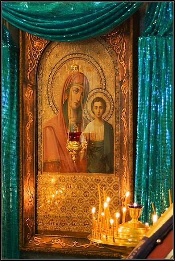 Икона Богородицы Казанская Коробейниковская