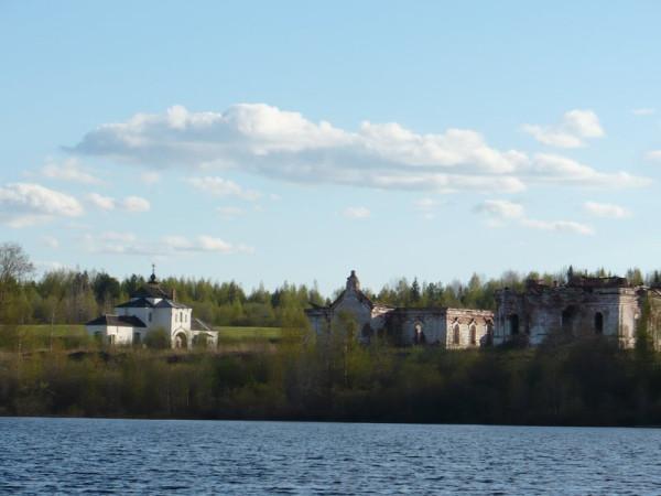Кожеозерский Богоявленский монастырь, действует, восстанавливается