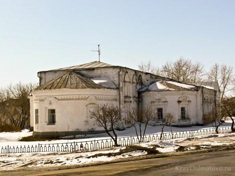 бывшая Николаевская церковь, сейчас в здании расположен музей