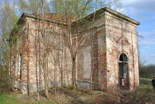 Церковь Троицы Живоначальной - Троицкое - Клинский район, восстанавливается
