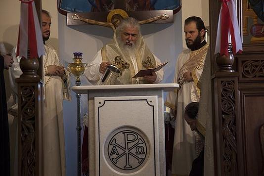 митрополит Неапольский Варнава освятил придел в честь Матроны Московской 4
