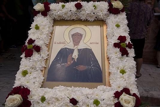 митрополит Неапольский Варнава освятил придел в честь Матроны Московской 3