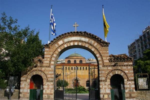 храм святой Софии в Салониках, Греция