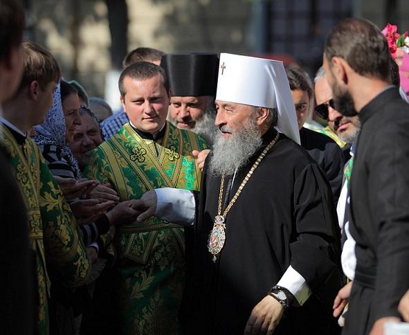 день тезоименитства Предстоятеля УПЦ митрополита Онуфрия 1