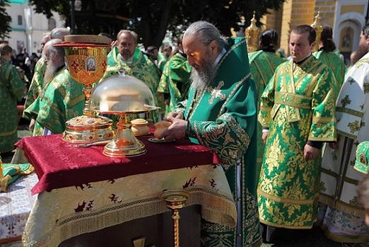 день тезоименитства Предстоятеля УПЦ митрополита Онуфрия 3