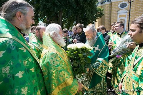 день тезоименитства Предстоятеля УПЦ митрополита Онуфрия 5